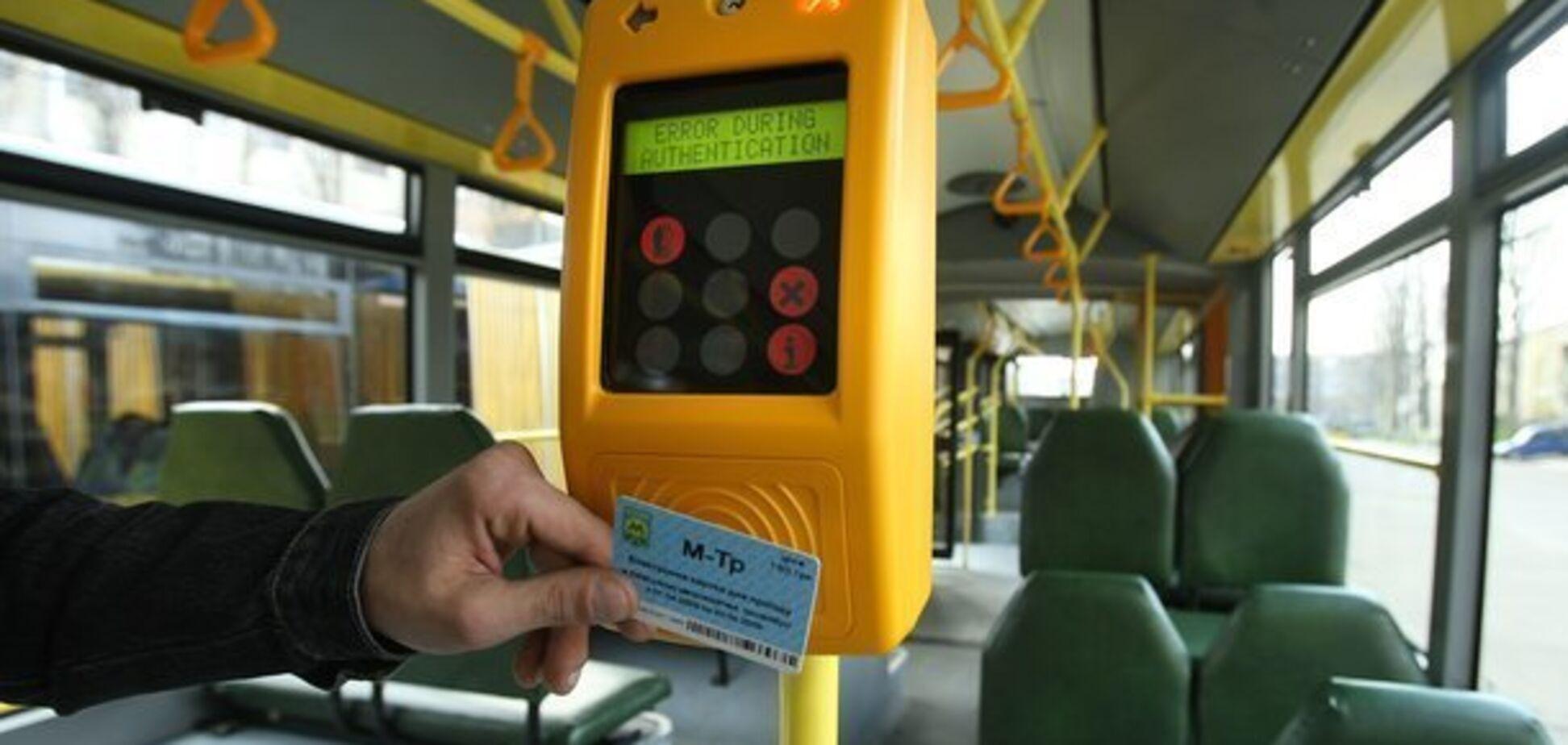 Транспорт в Киеве переходит на е-билет: как теперь платить