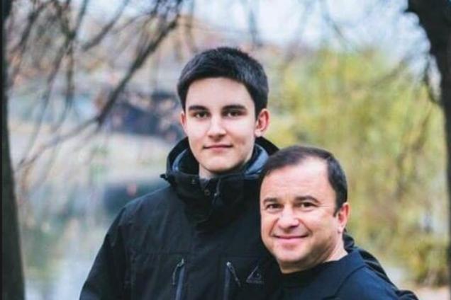 Віктор Павлік із сином