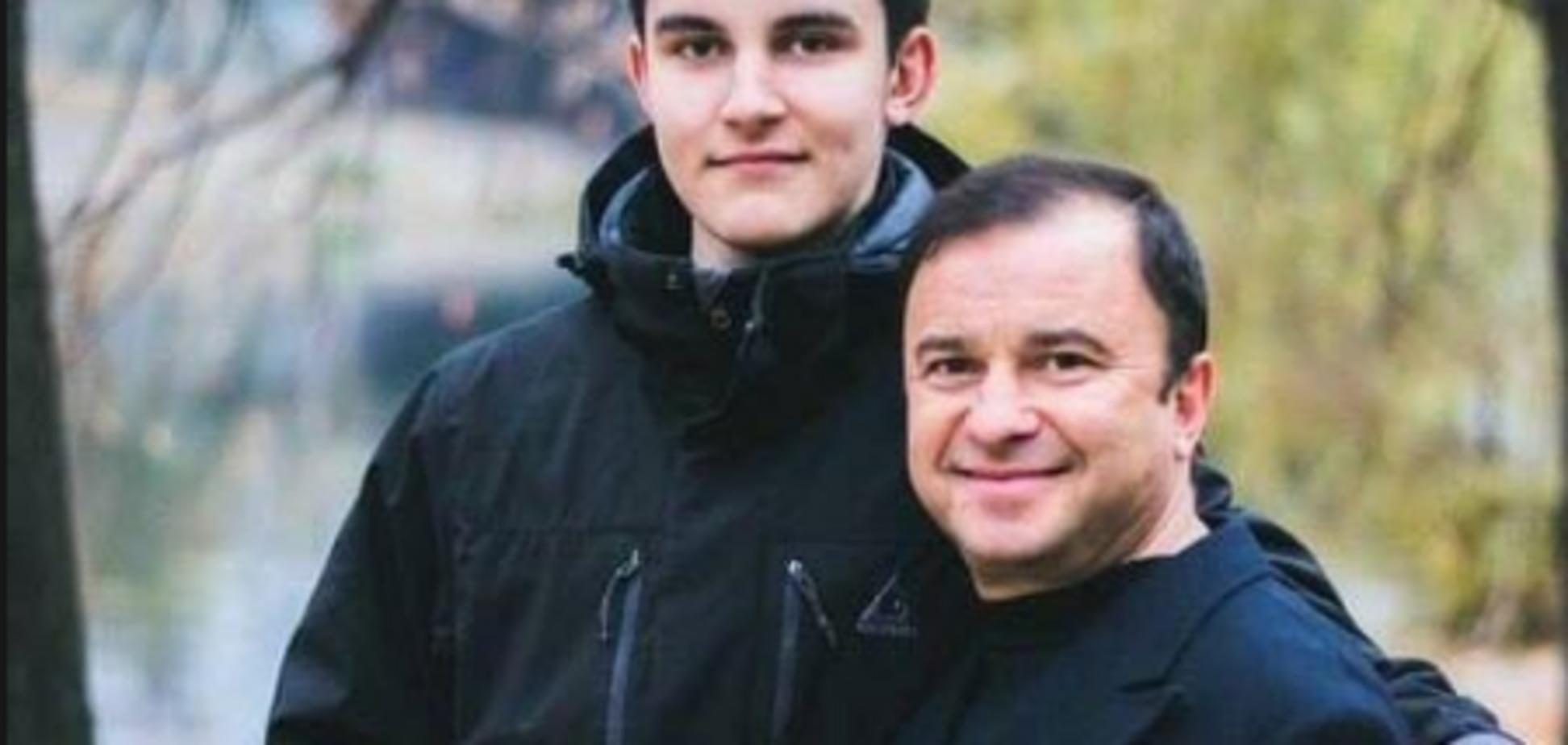 Віктор Павлик із сином
