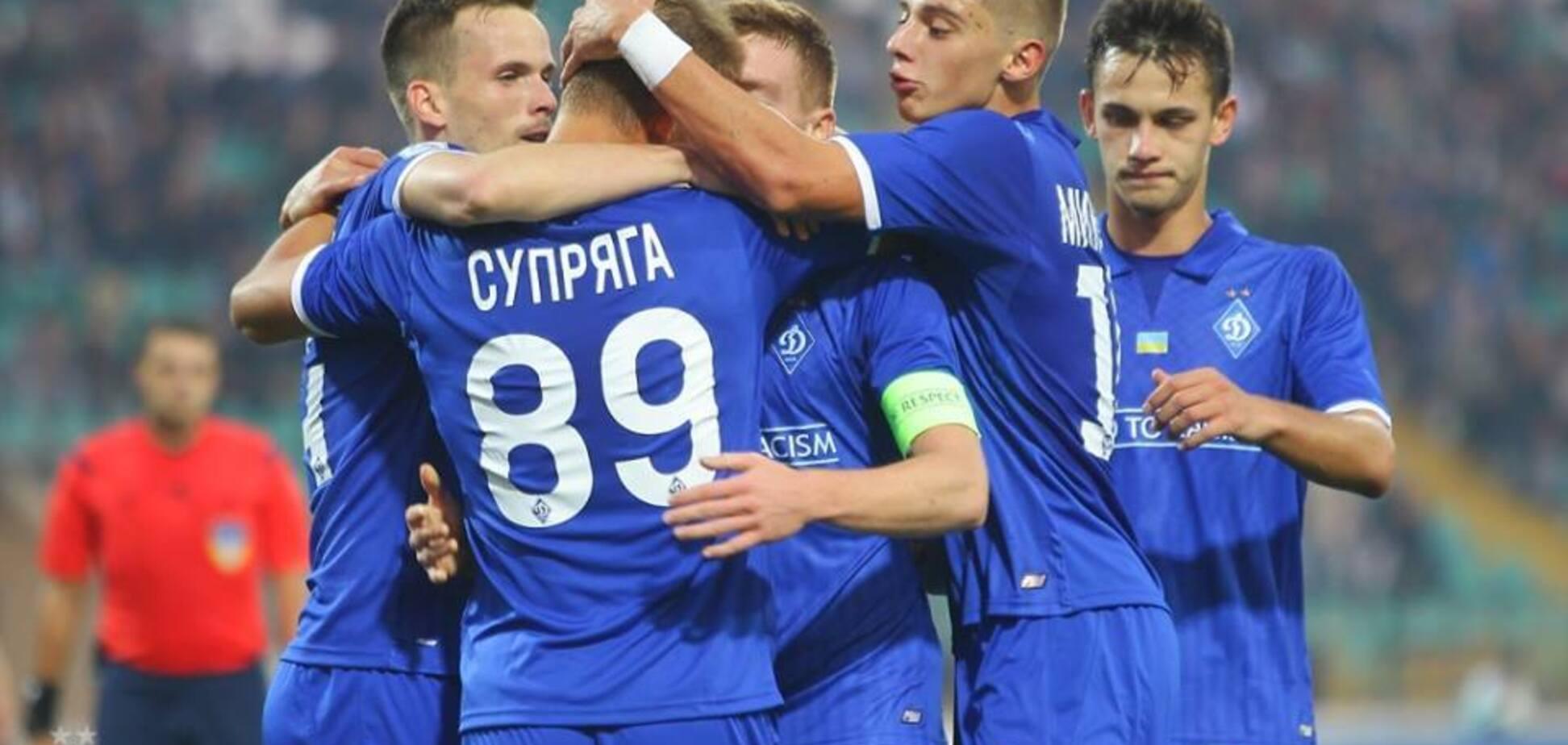 УЕФА отметил невероятный гол 'Динамо' в ЛЕ