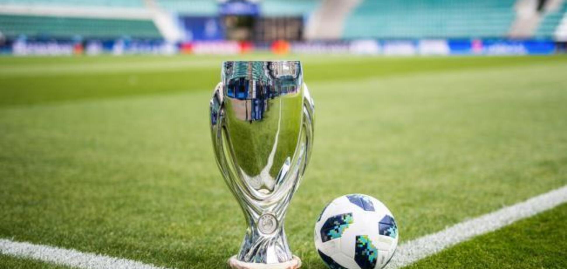 Матч за Суперкубок УЕФА может пройти в Украине: назван стадион