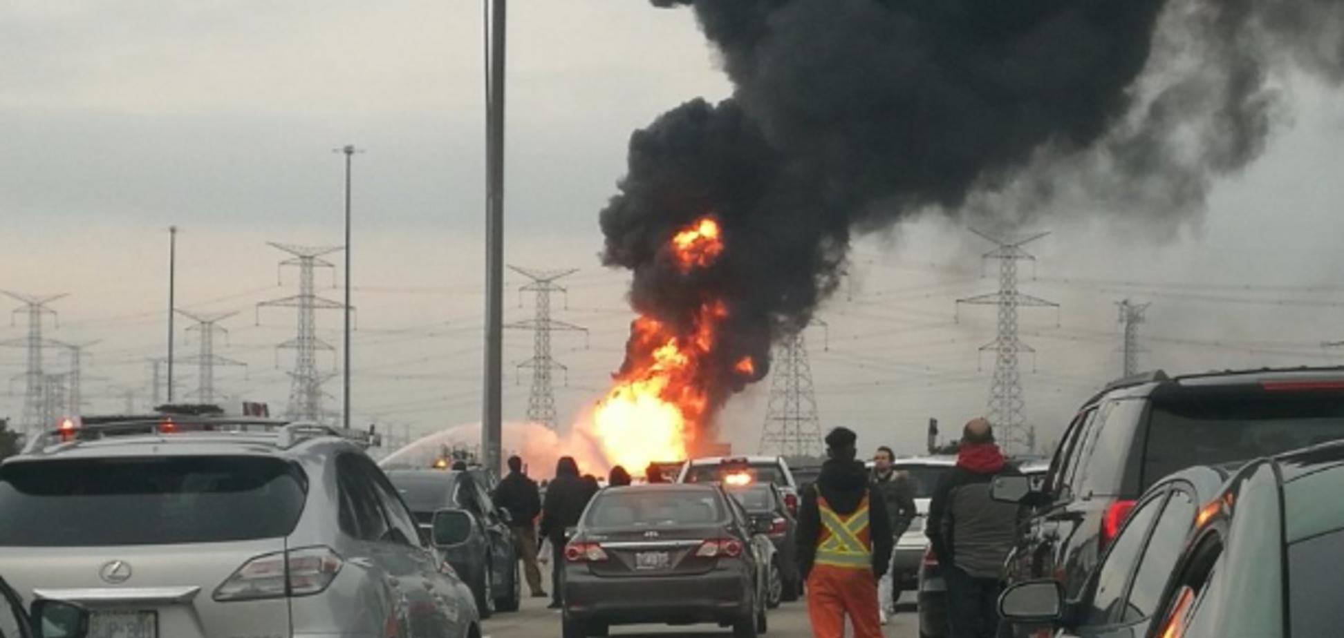 В Канаде на важной трассе случилось крупное ЧП: все подробности