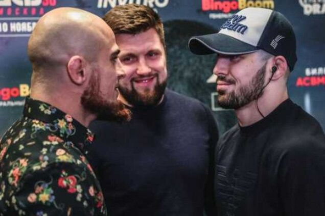 На турнире ММА в России произошла массовая драка