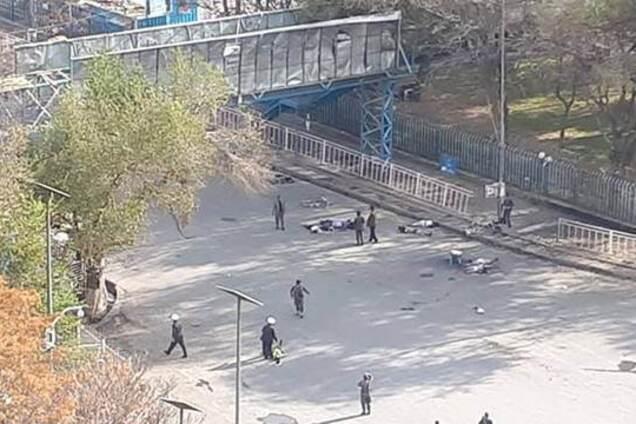 В Кабуле прогремел мощный взрыв: первые фото и видео