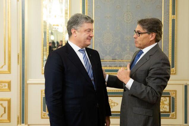Петр Порошенко и Рик Перри