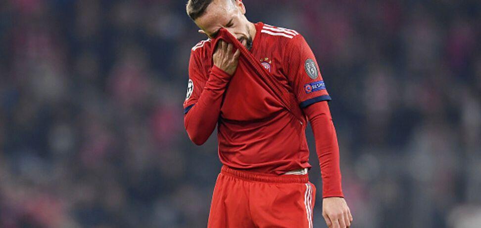 Знаменитый Рибери отметился дикой выходкой после матча