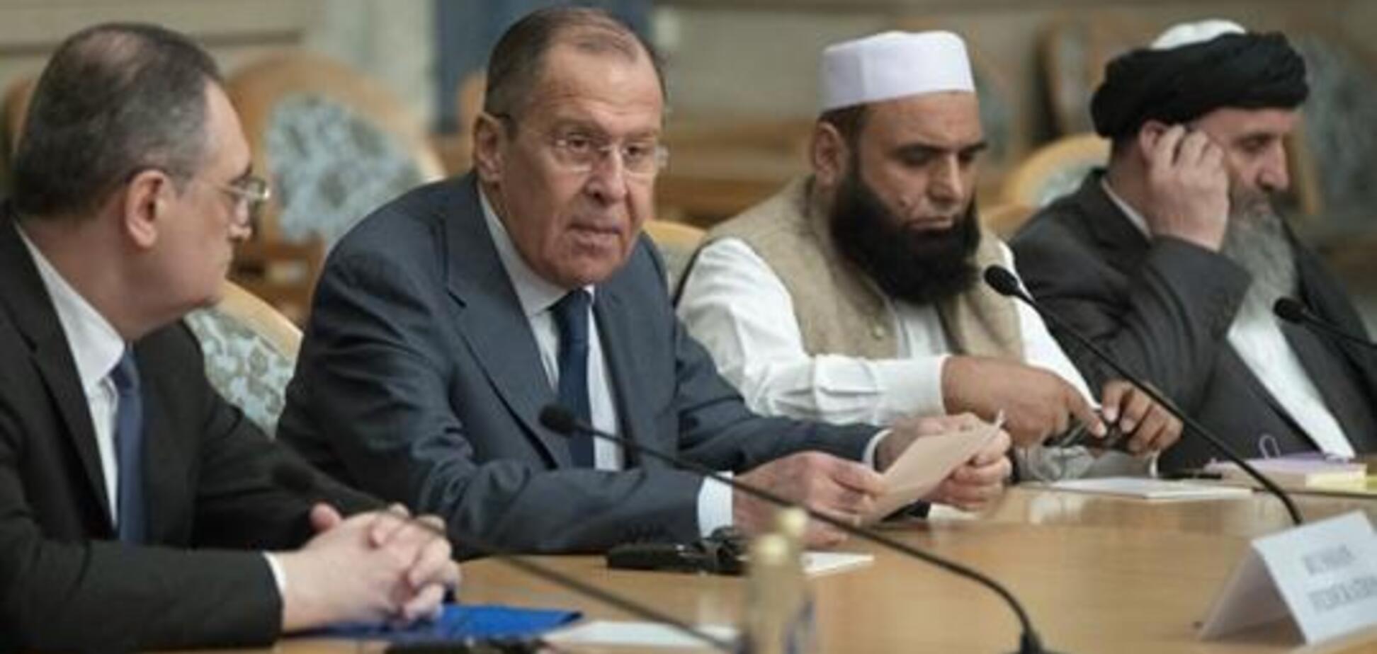 Лавров и Талибан