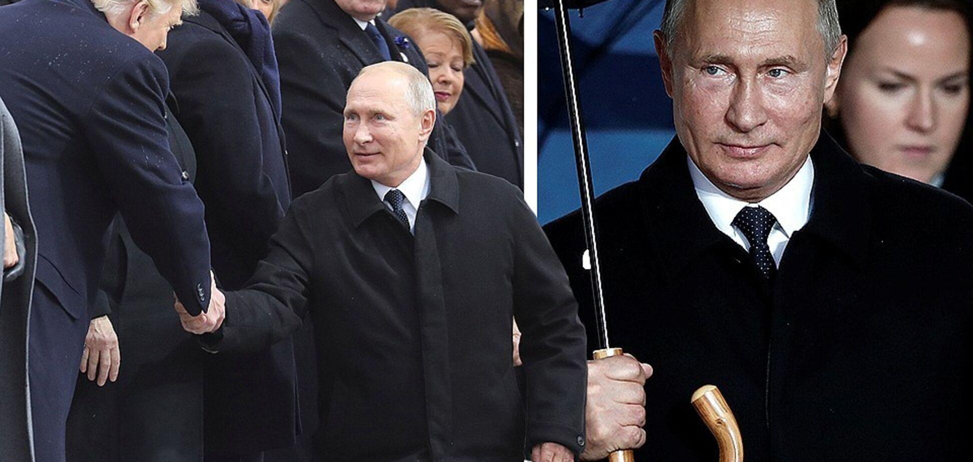''Он давно умер'': Путина подловили на ''фокусах'' со внешностью