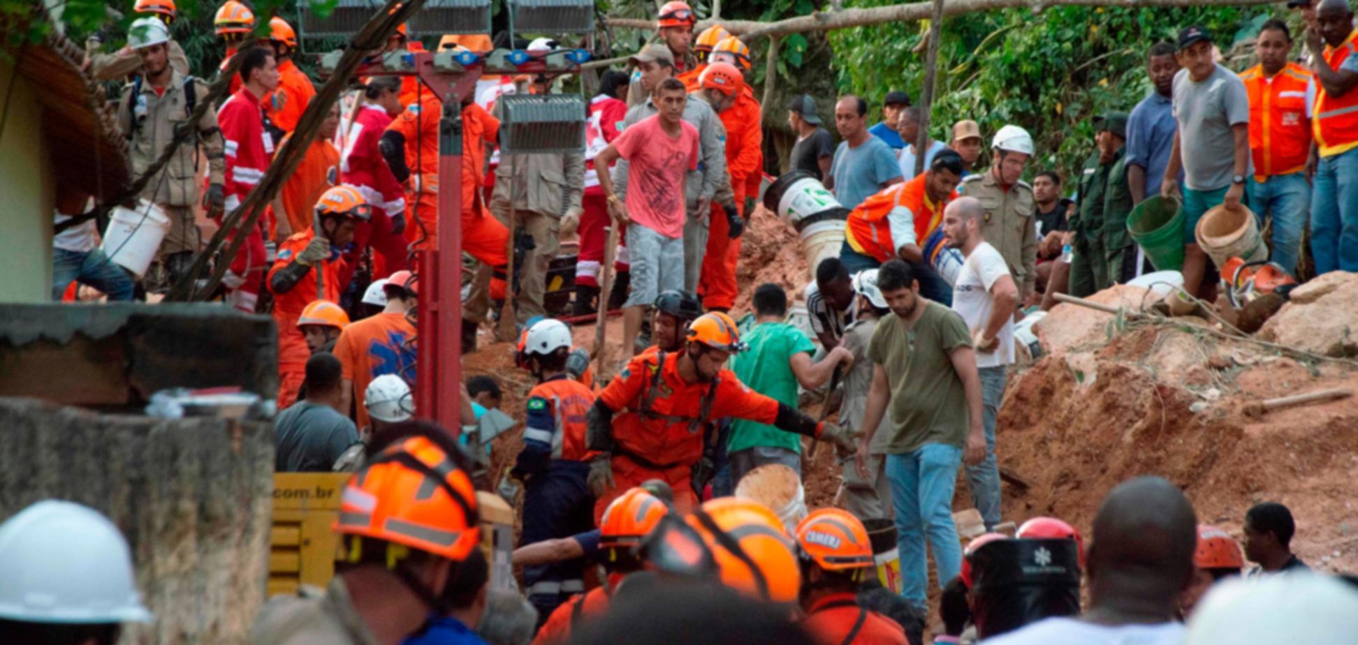 У Бразилії земля поховала людей живцем: загинули 14 осіб