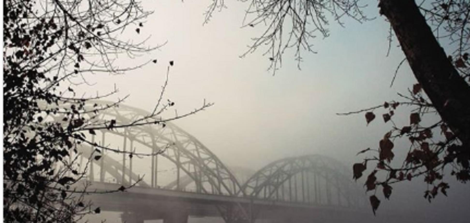 Київ в імлі: топ фото осінньої столиці в Instagram