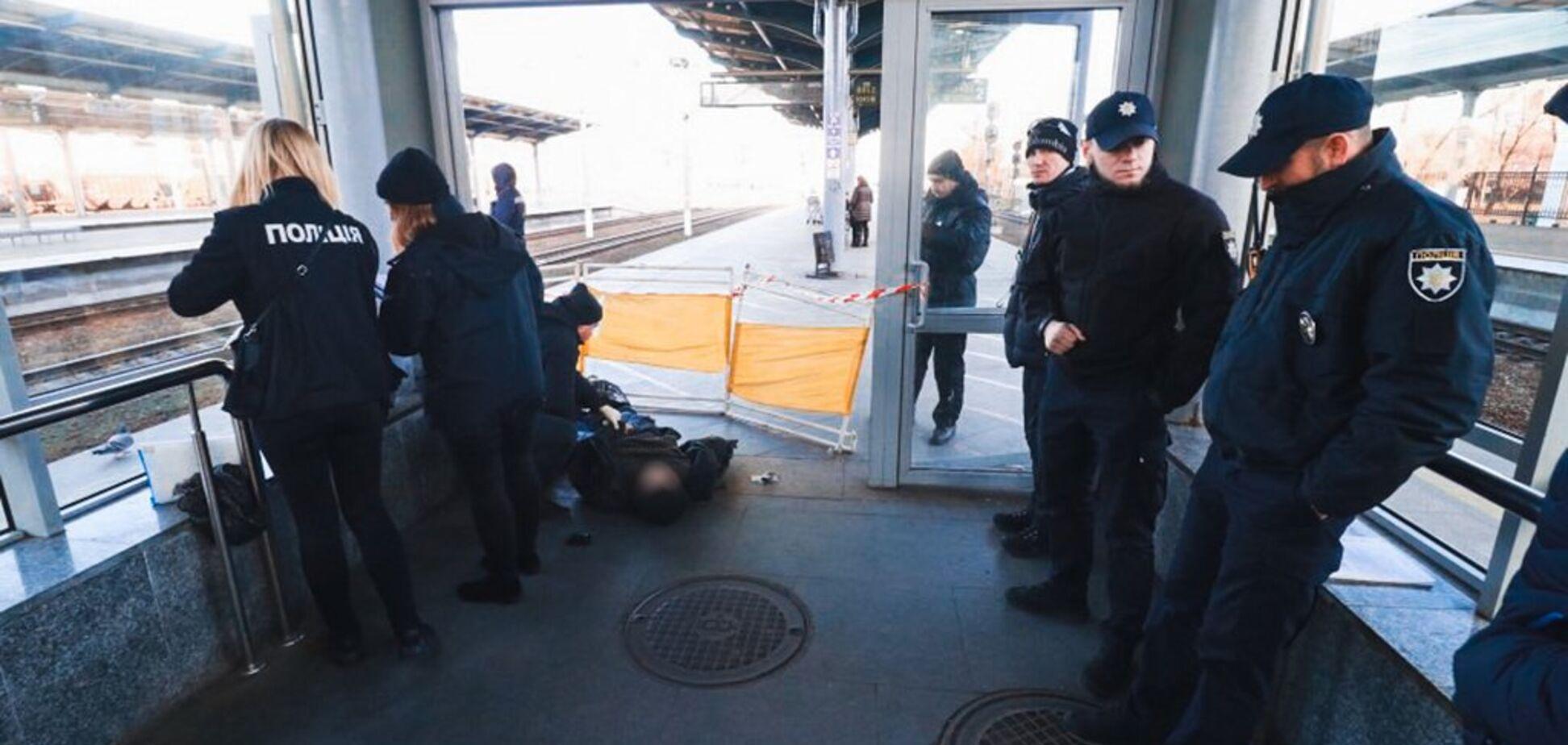 У Києві на вокзалі виявили труп: перші подробиці НП