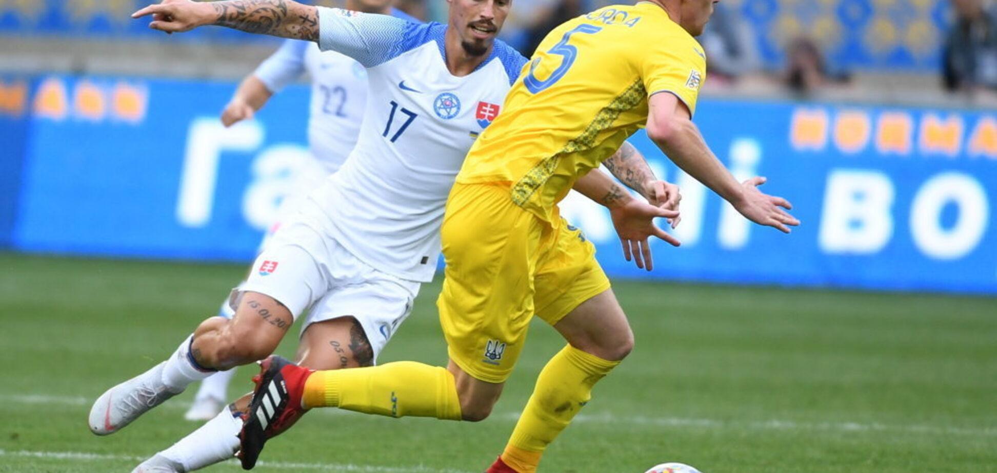 Словаччина — Україна: прогноз на матч Ліги націй