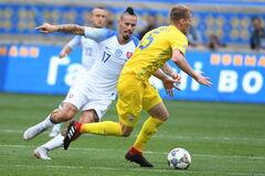 Словакия - Украина: прогноз на матч Лиги наций