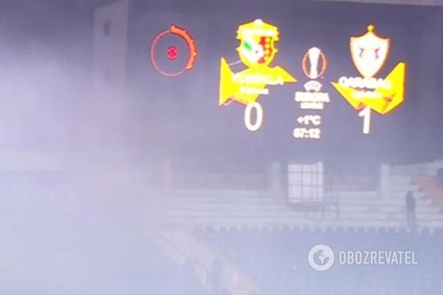 УЄФА завів справу на український клуб