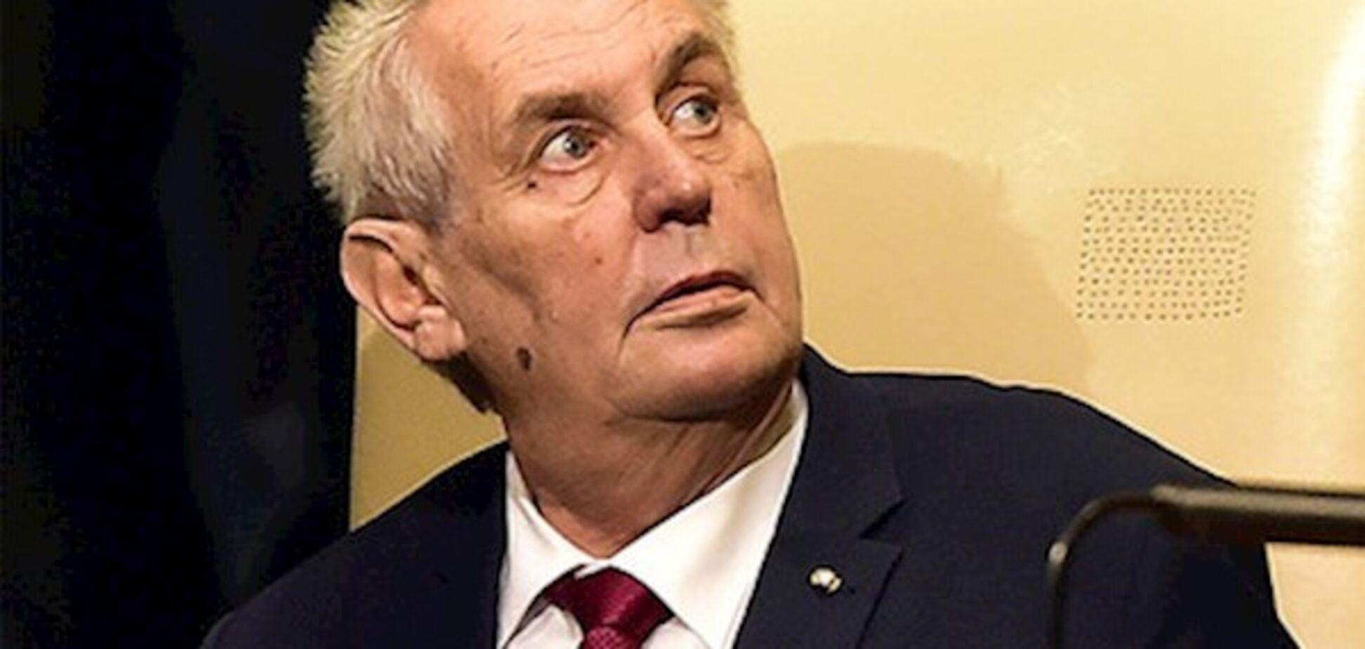 ''Це змова!'' Чеський друг Путіна відреагував на скандал через Крим
