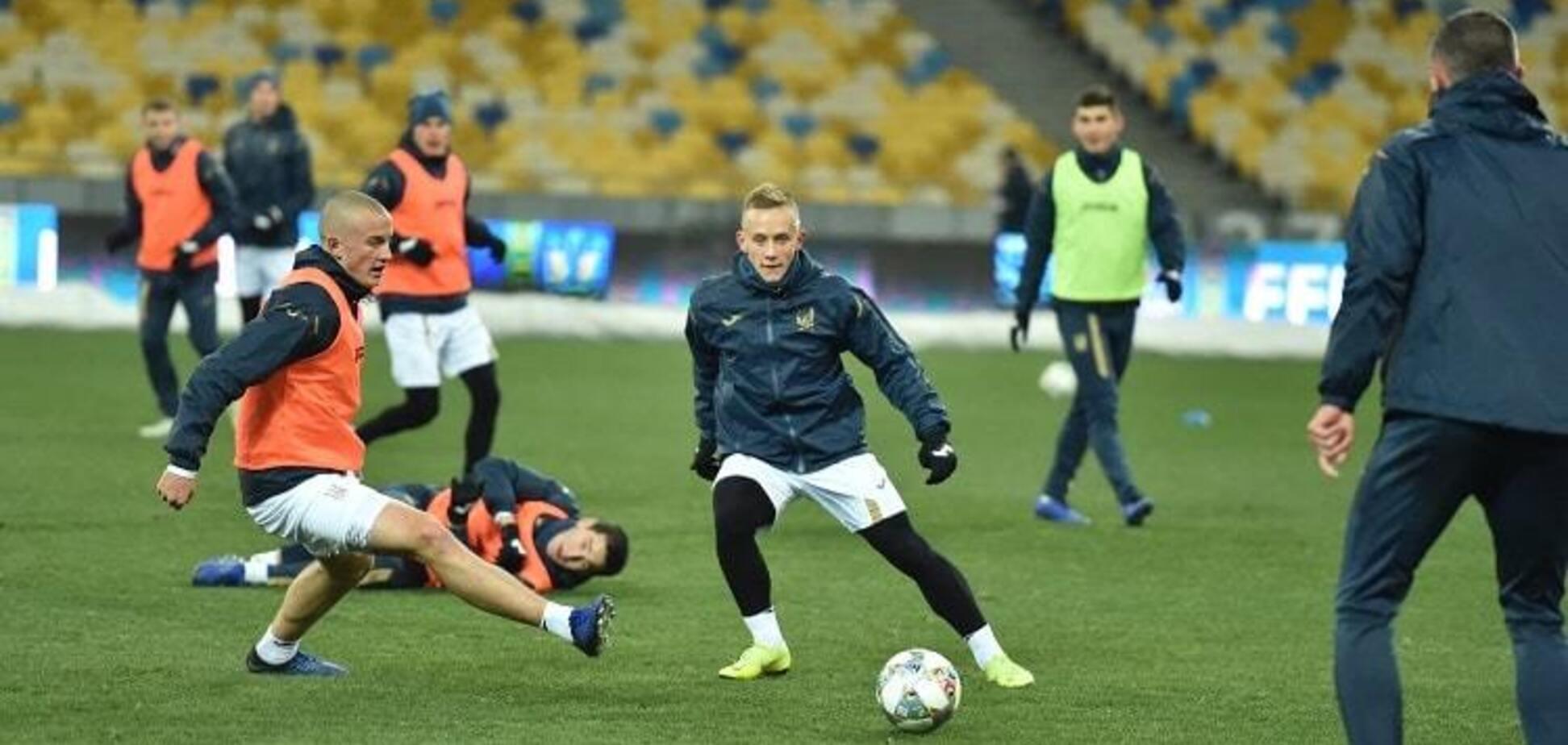 У легионера сборной Украины возникли проблемы в команде