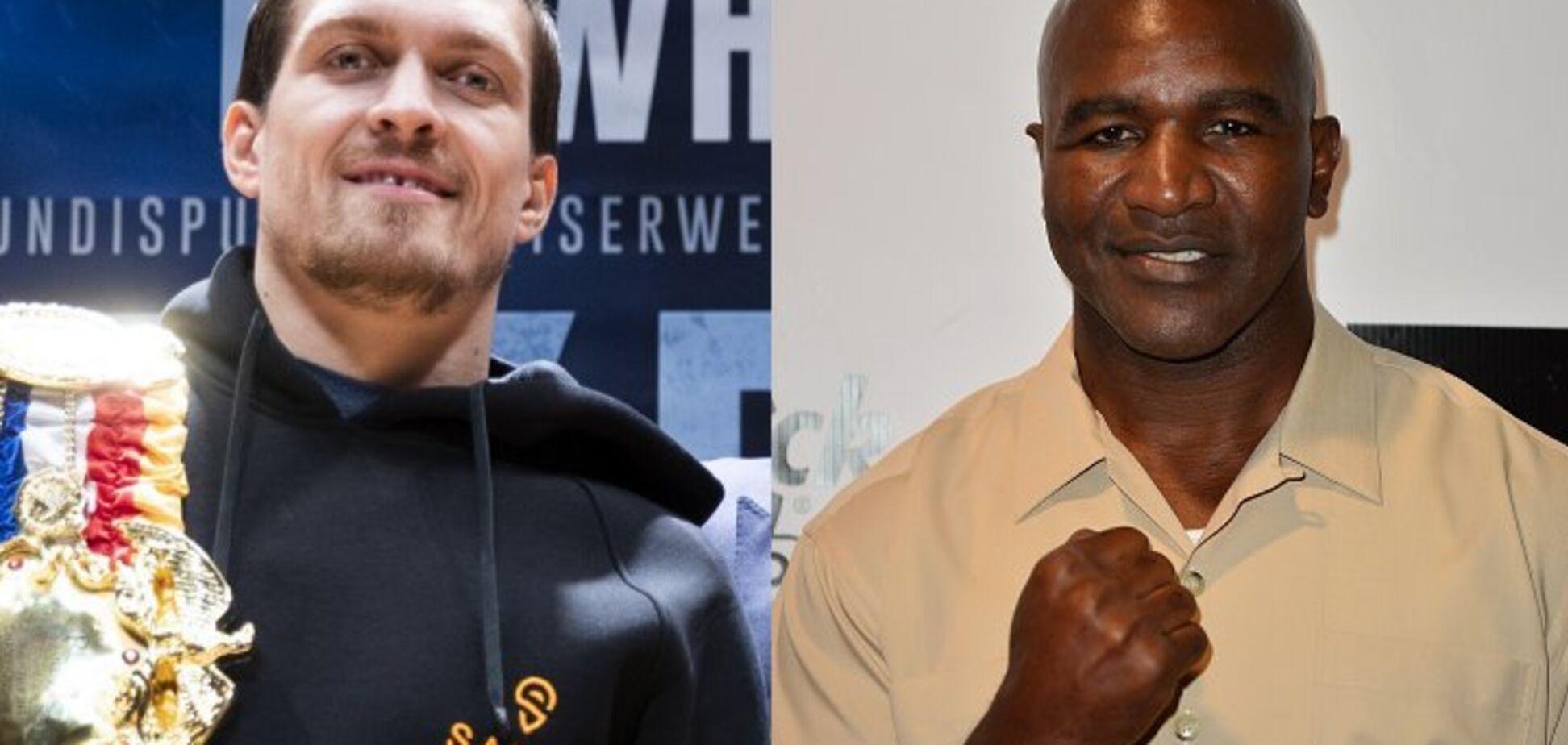 ''Его эпоха'': легендарный боксер пришел в восторг, впервые увидев бой Усика