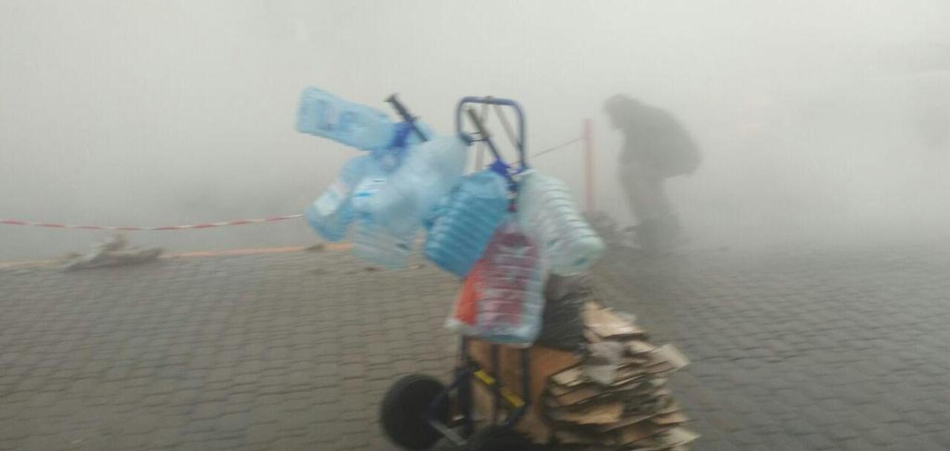 В центре Киева новое ЧП из-за прорыва трубы: фото и видео