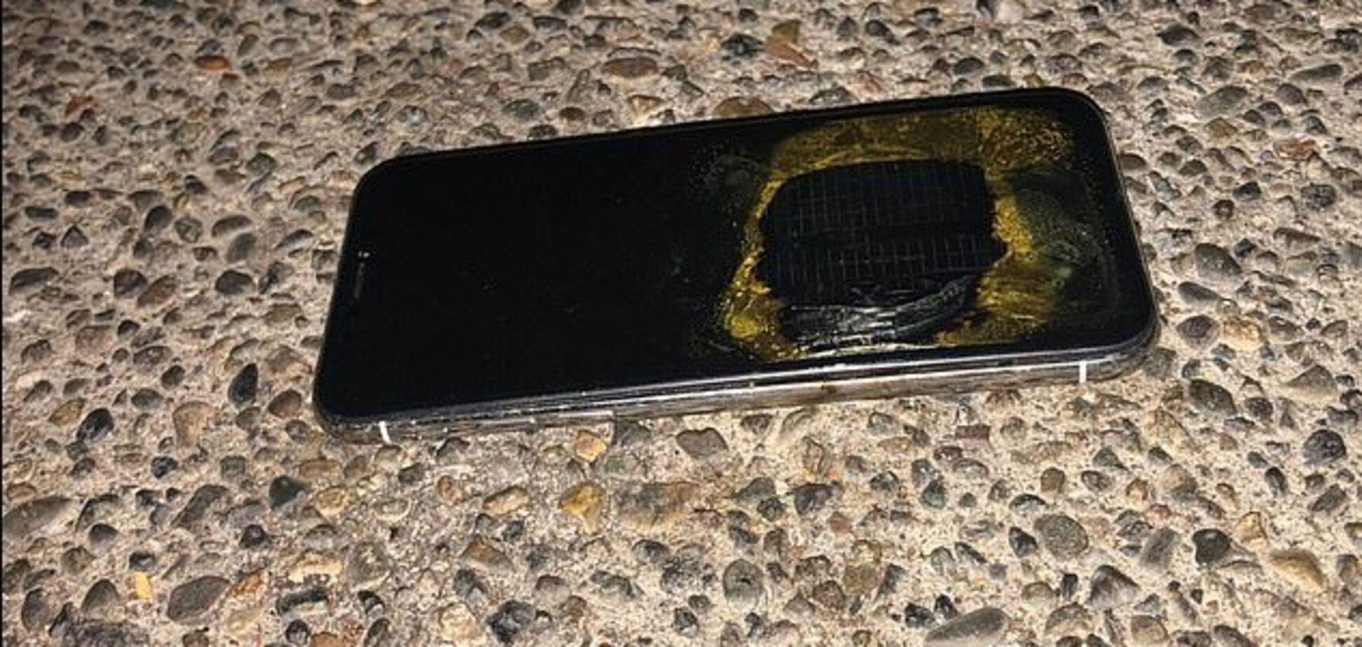 Задымился и взорвался: в США произошел травмоопасный инцидент с iPhone X