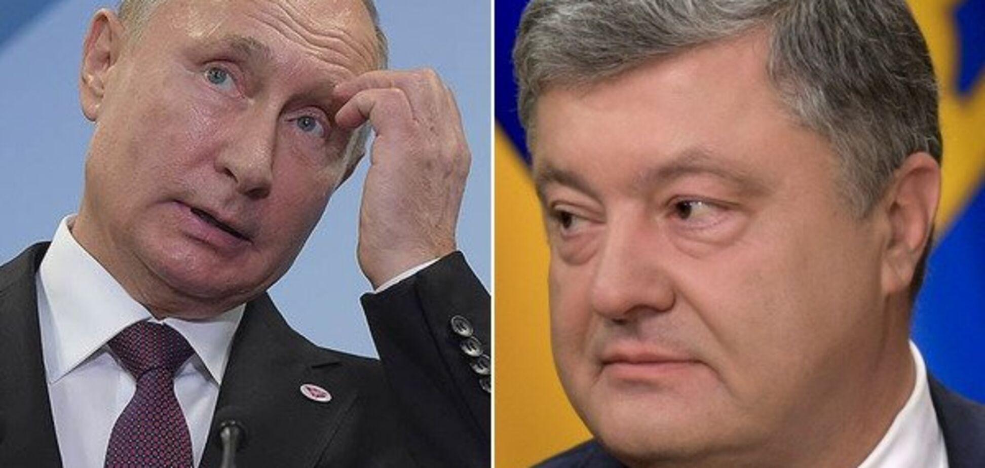 Путин — лжец: у Порошенко ответили на заявление об атаке украинских кораблей