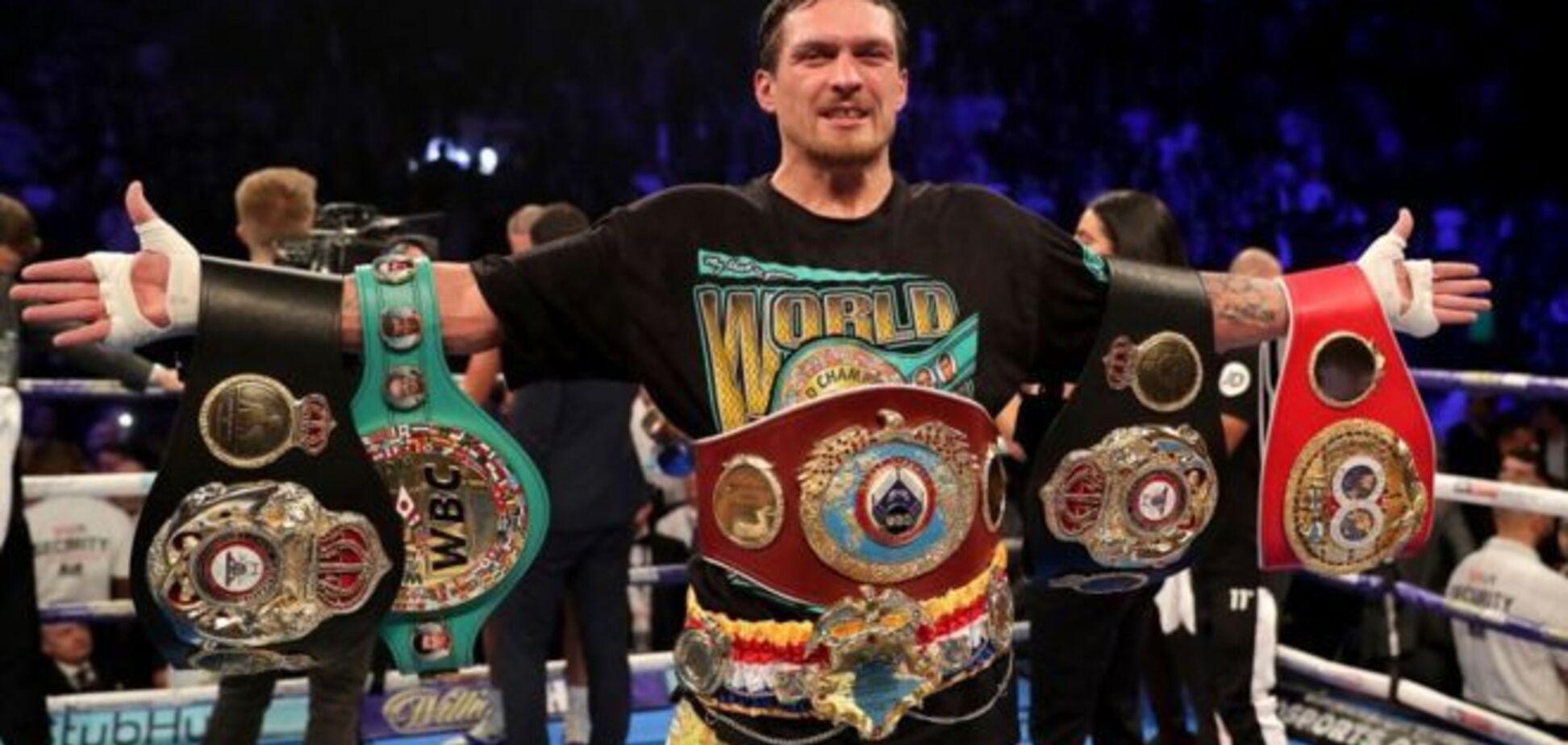 'Взагалі забути': промоутер Усика розповів, коли відбудеться новий бій чемпіона