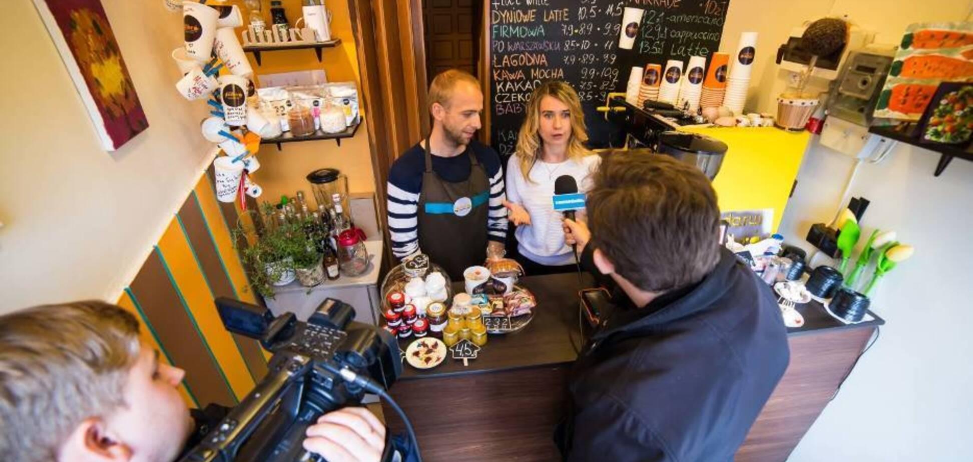 У нее самое маленькое кафе в Польше и это круто. История успеха одной украинки
