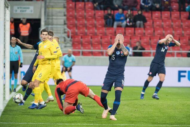 Словакия - Украина: обзор матча
