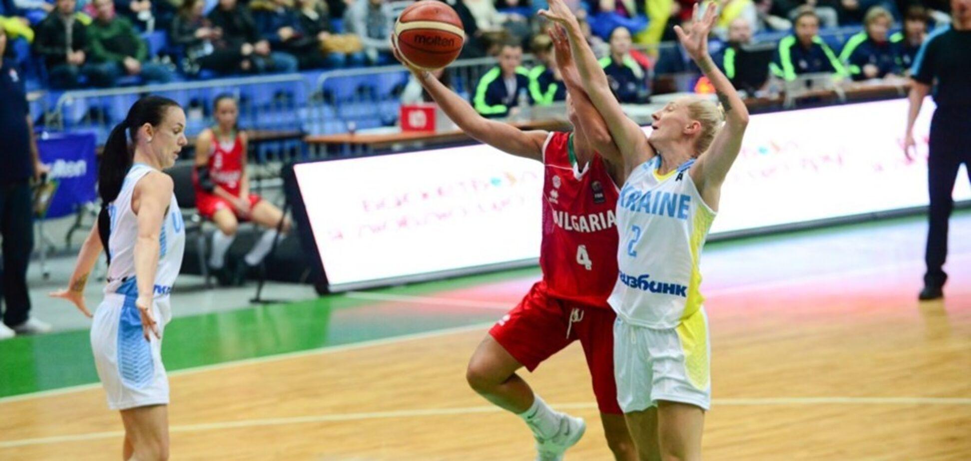 Болгария – Украина – 60-86: видеотрансляция матча отбора женского Евробаскета-2019