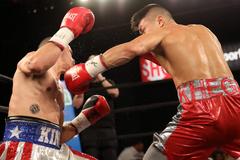 Непереможний український боксер здобув ефектну перемогу