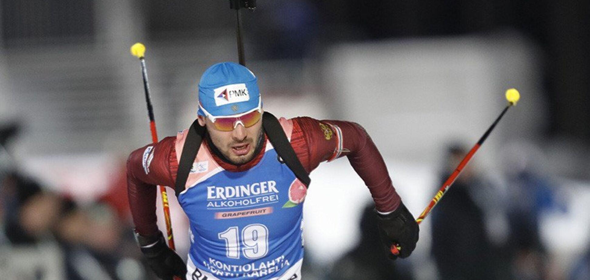 Лучший биатлонист России отказался выступать за сборную