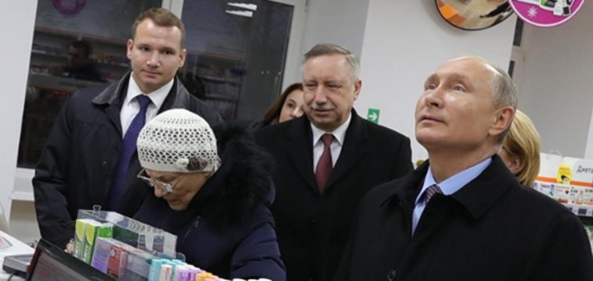 ''Тільки ціаністий калій'': мережу розсмішив ''інспектор'' Путін