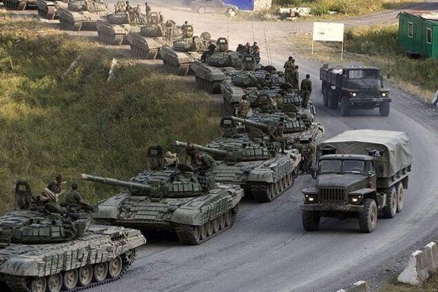 РФ перекинула на Донбас багато техніки