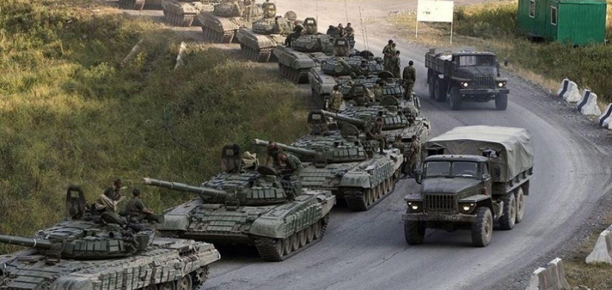 Росія перекинула на Донбас велику партію військової техніки
