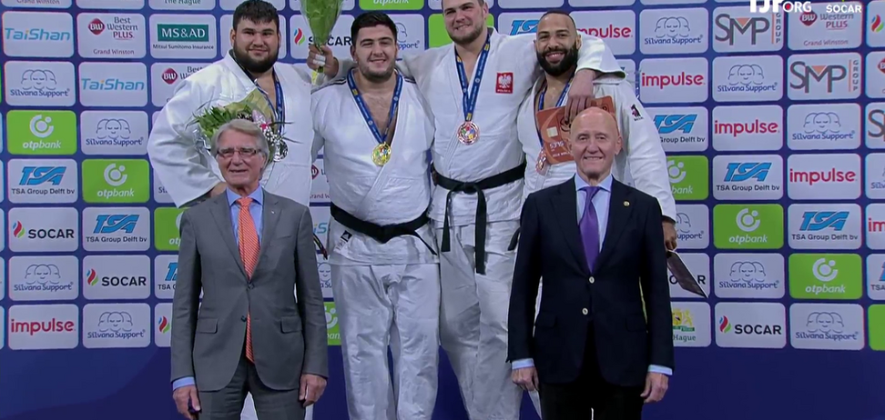 Гимн Украины на Гран-при по дзюдо вызвал восторг у зрителей - видеофакт