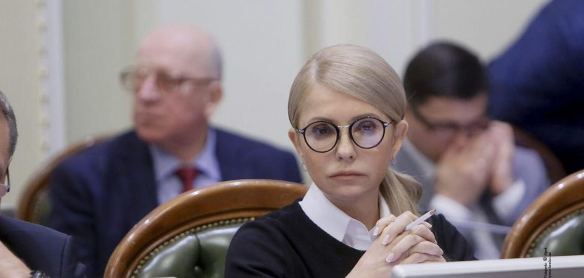 Повышение цен на газ нужно власти, переписывающей украинские месторождения на коррупционное окружение — Тимошенко