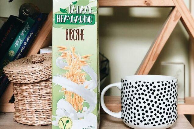 """Первые растительные украинские напитки """"Ідеаль Немолоко"""" уже в продаже"""