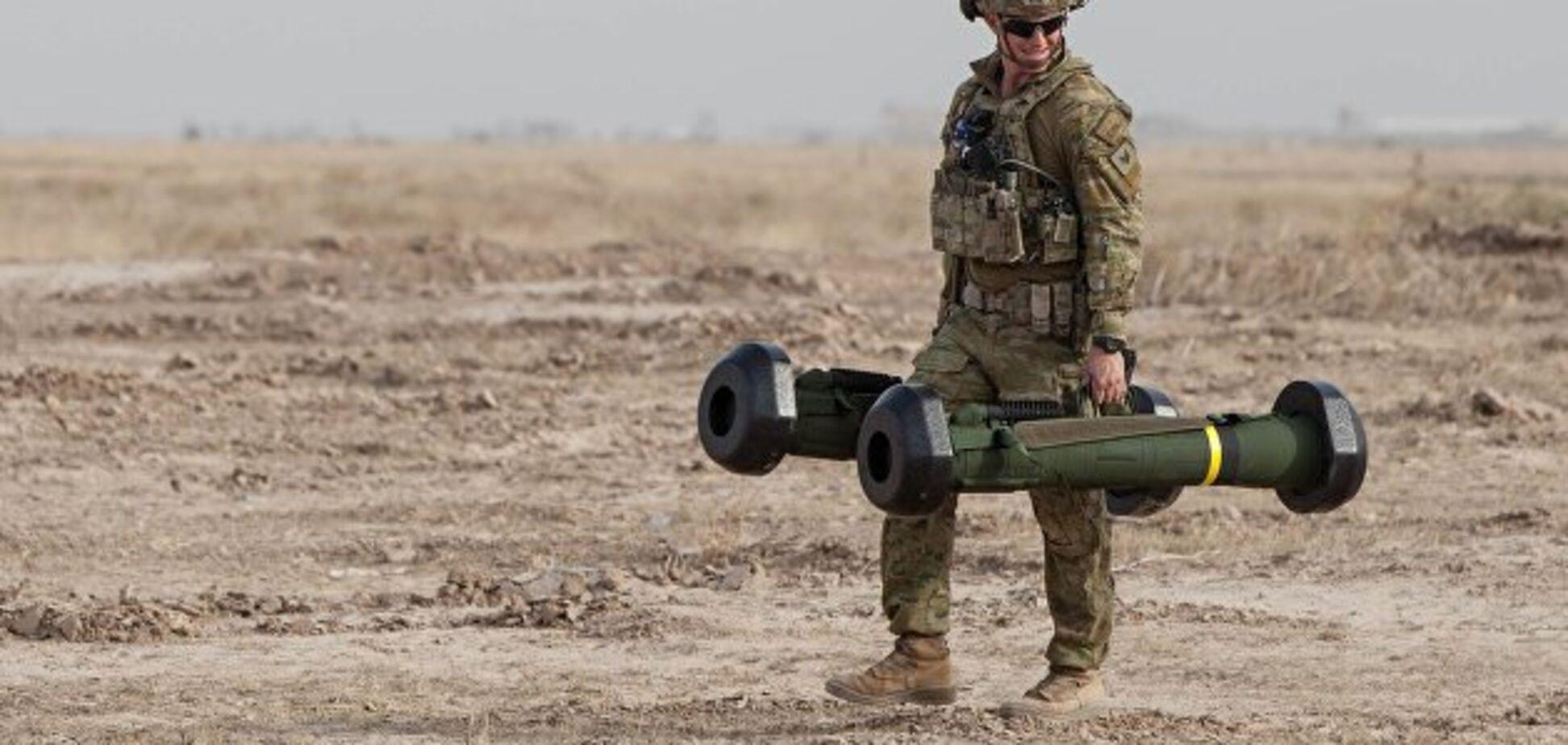 ''Відвели танки вглиб'': ''Л/ДНР'' перелякалися зброї США на Донбасі