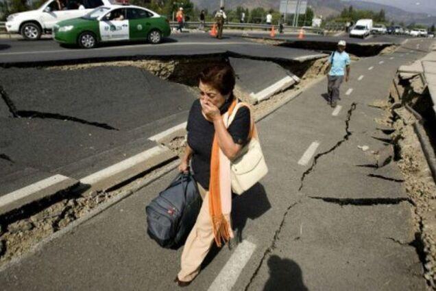 Землетрясение в Чили/Иллюстрация
