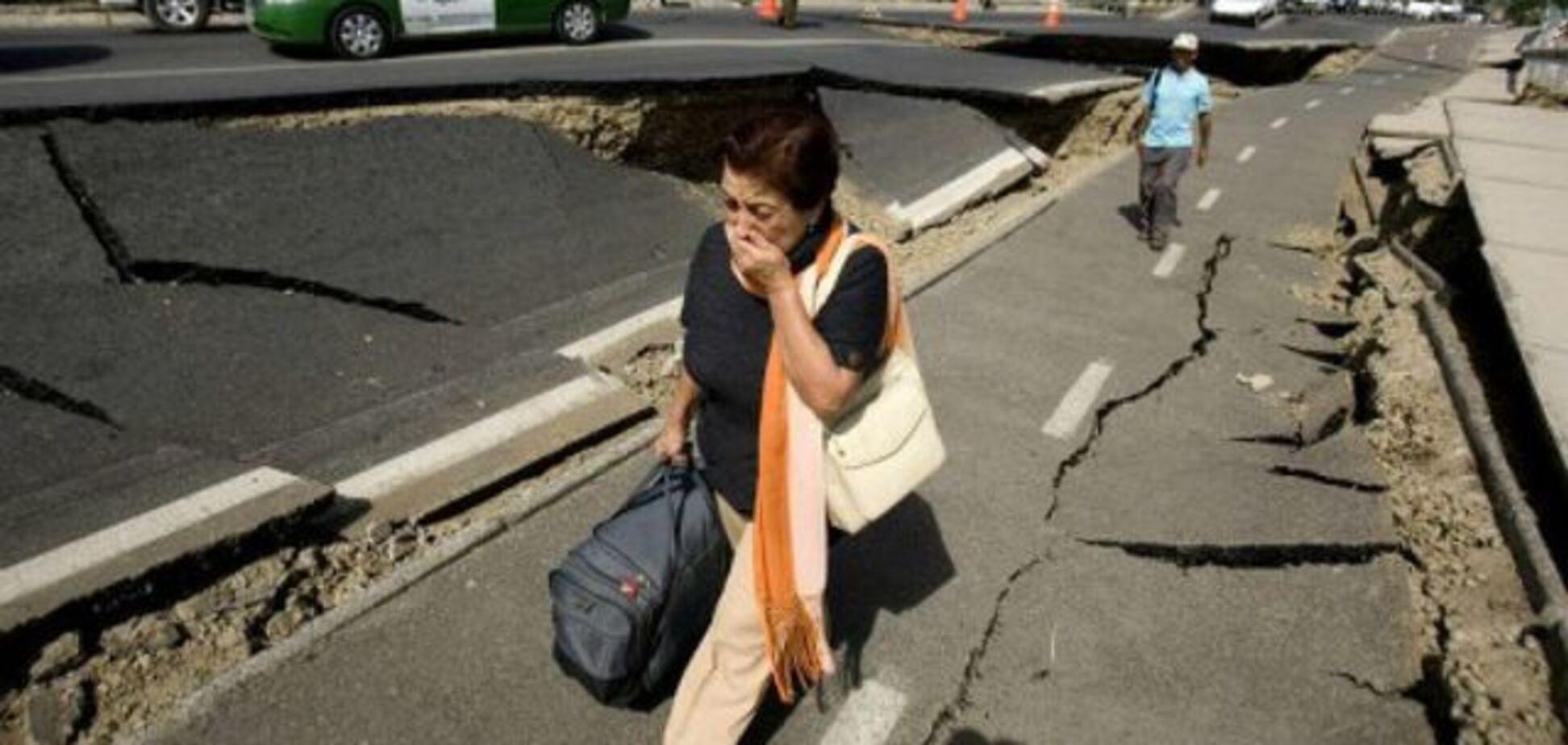 Землетрус в Чилі / Ілюстрація