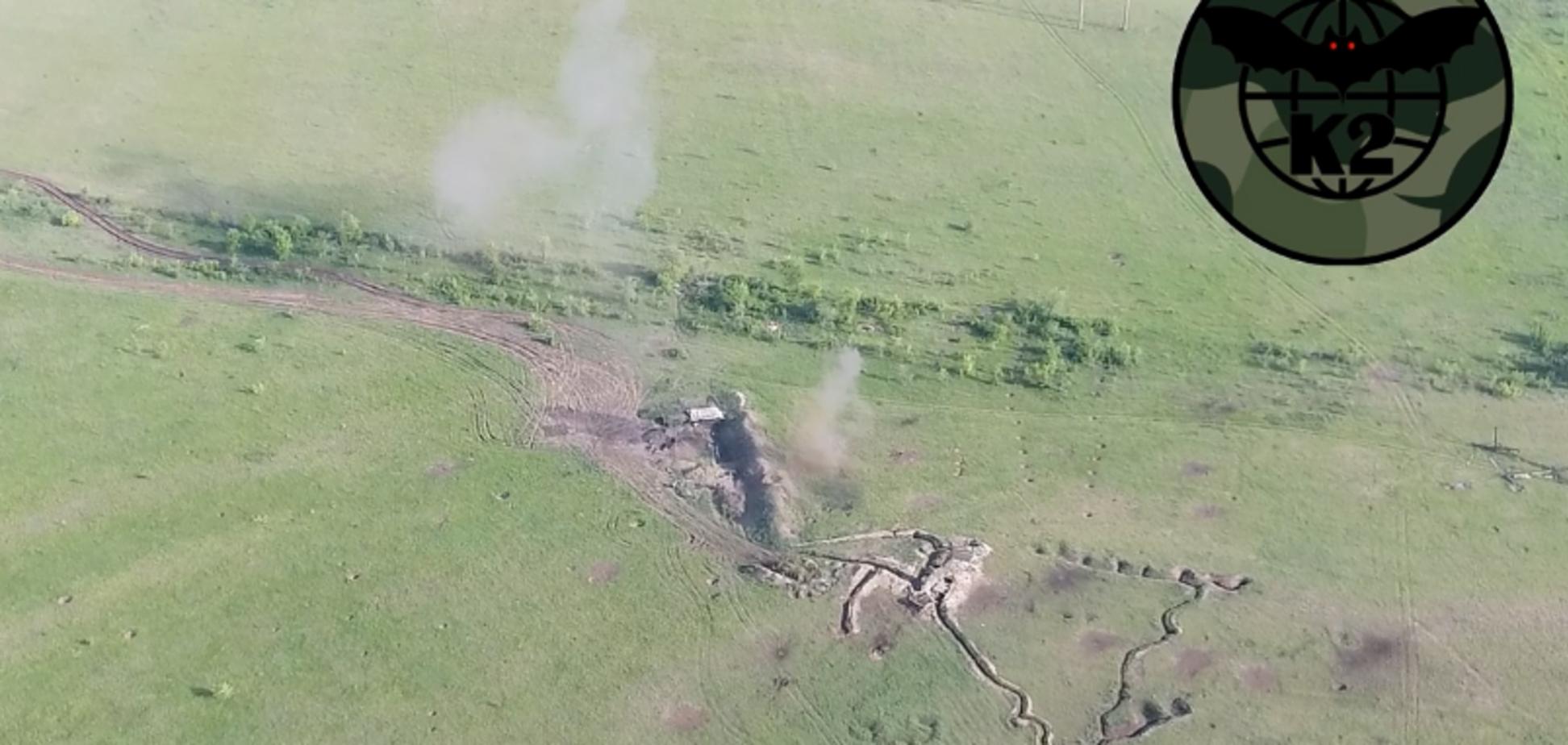 'Працювали чітко!' З'явилося відео нищівного удару ЗСУ по позиціях ''ДНР''