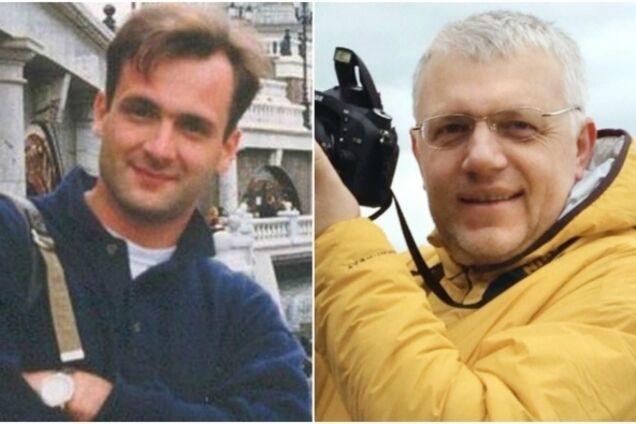 Георгий Гонгадзе (слева) и Павел Шеремет