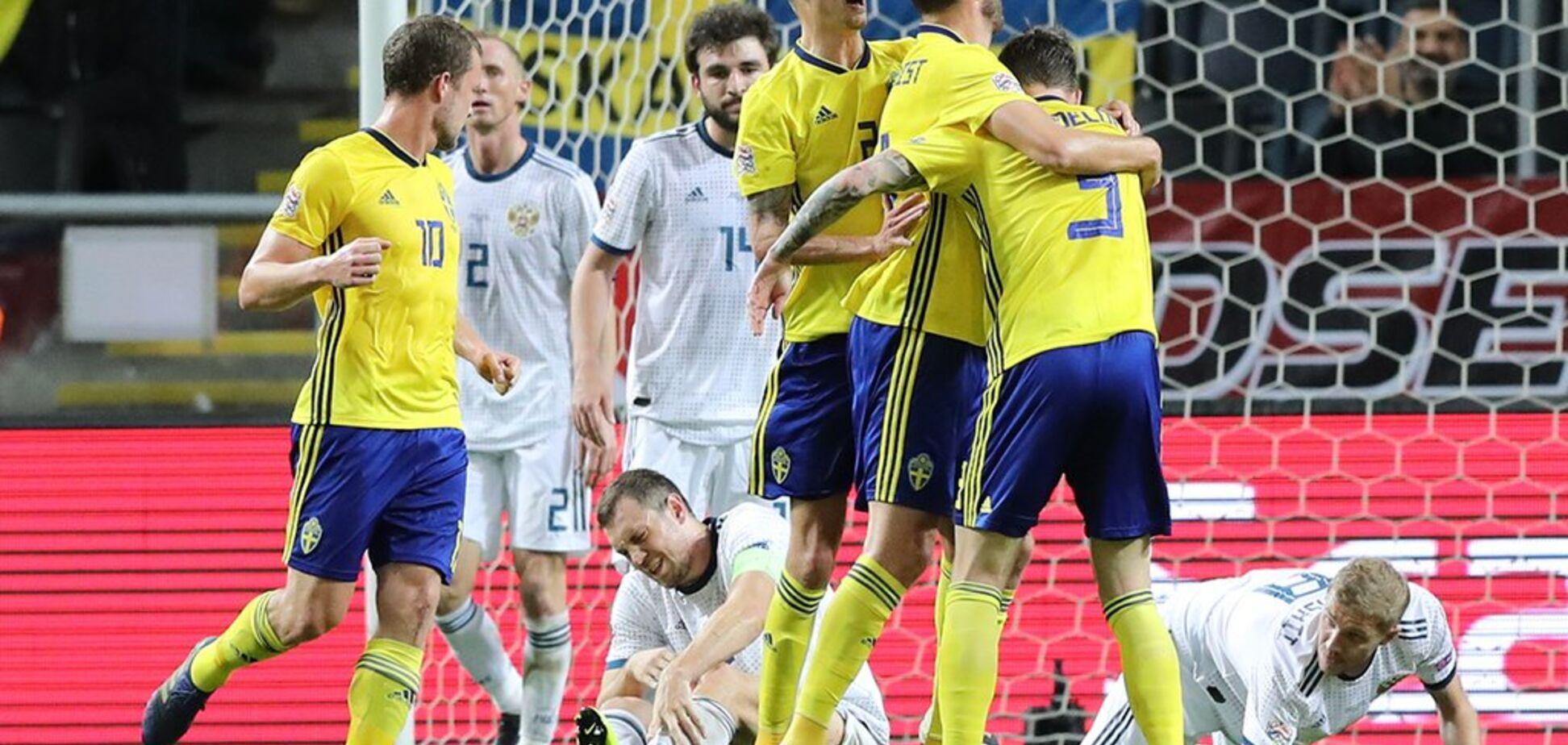 Швеція не пустила Росію в еліту Ліги націй