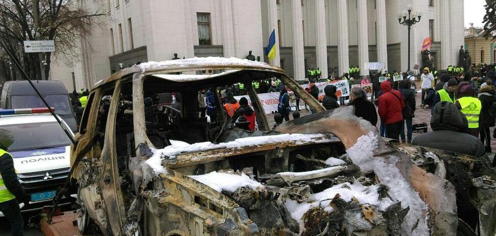 ''Евробляхеры'' парализовали центр Киева: все подробности