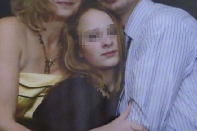 Даша Круглова с семьей