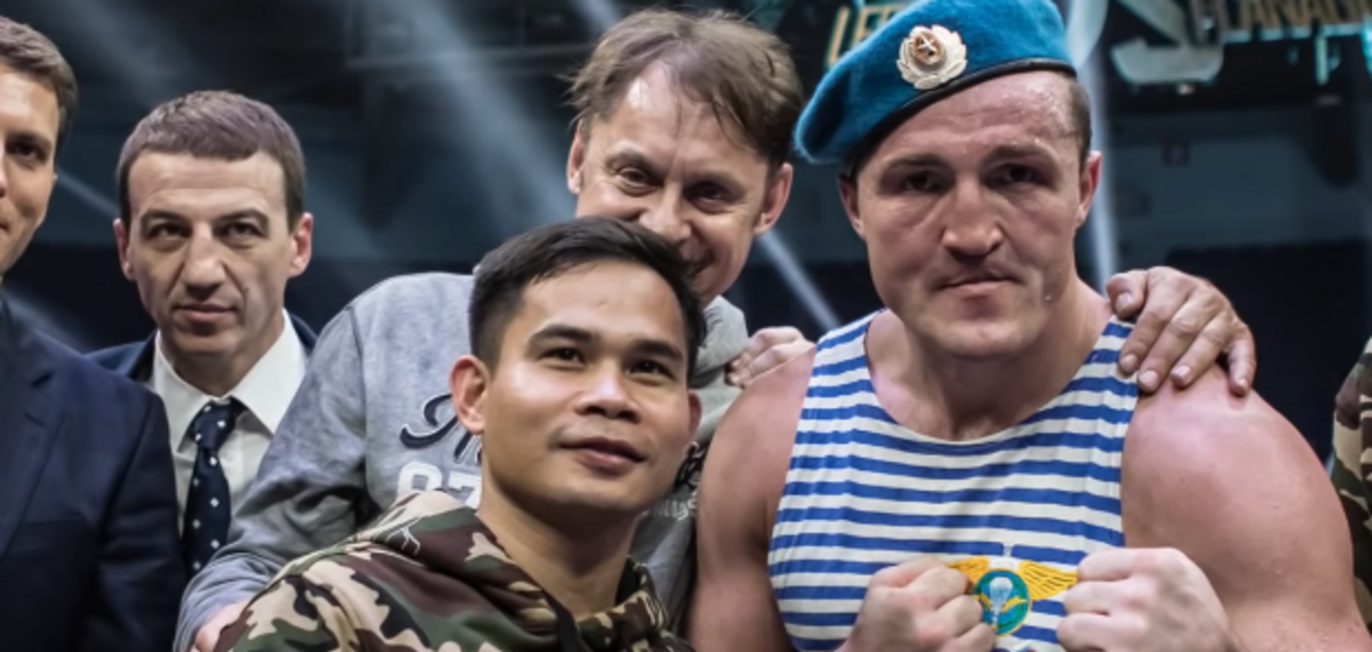 ''Как в анекдоте'': боксера из команды Путина высмеяли за попытки подраться с Усиком