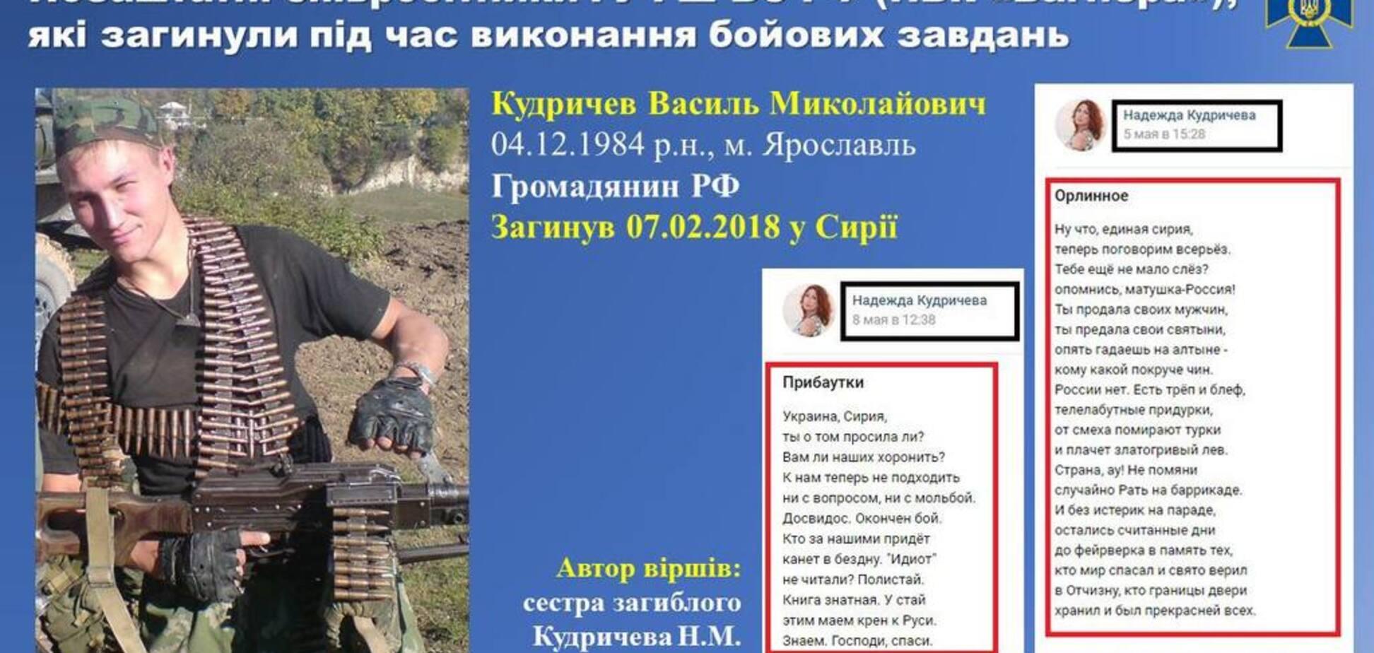 Розсекречені особи російських найманців ПВК 'Вагнер' на Донбасі: поіменний список