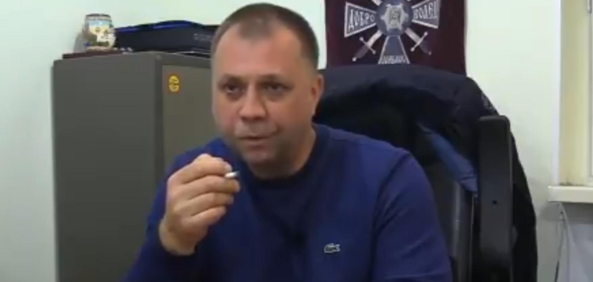 Проговорився: екс-ватажок ''ДНР'' здав російських військових на Донбасі