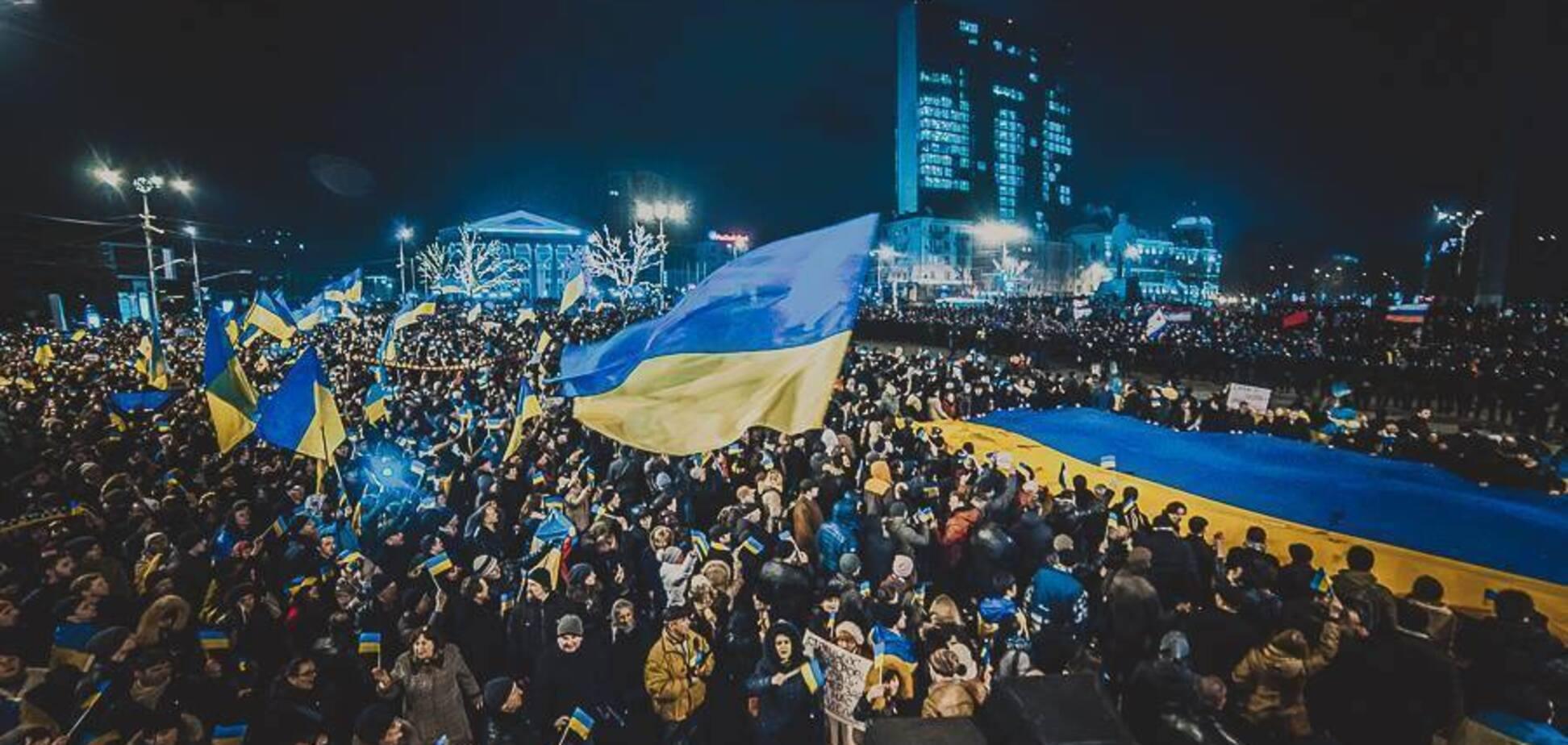 Донбас — Україна: поетеса розвінчала головний міф ''русского міра''