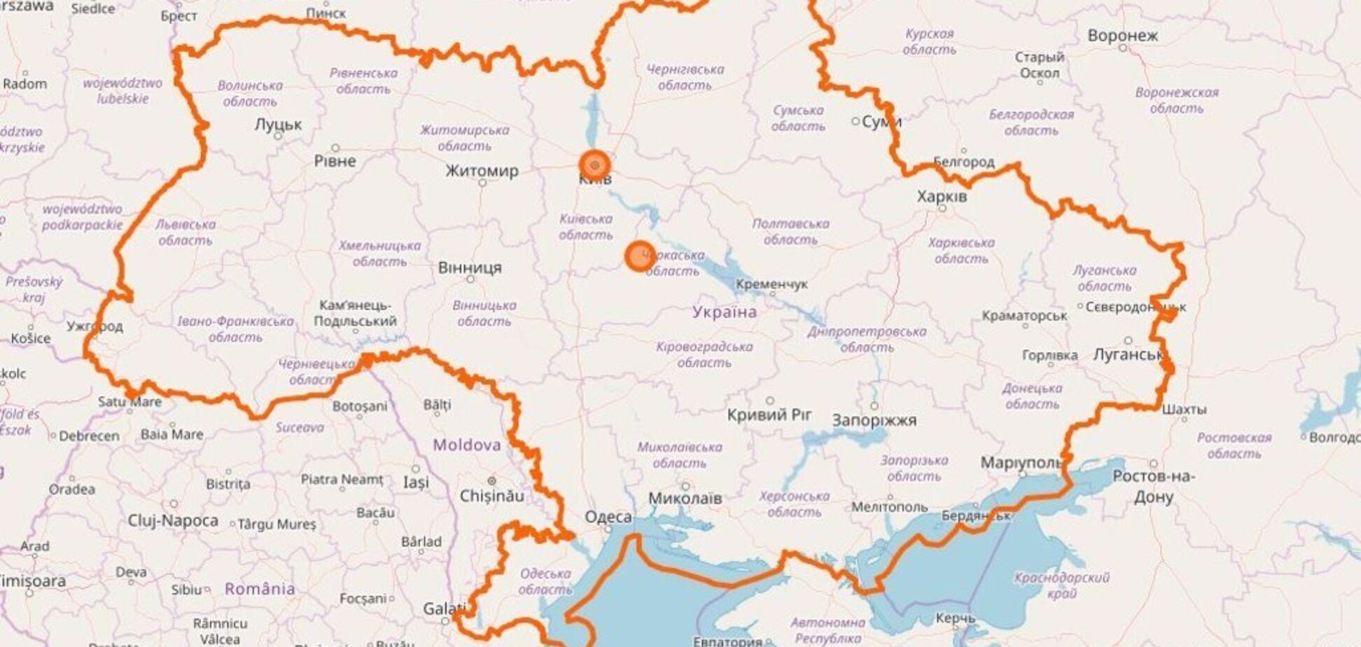 ''Путин контролирует'': международные картографы попали в скандал из-за ''Крыма в России''