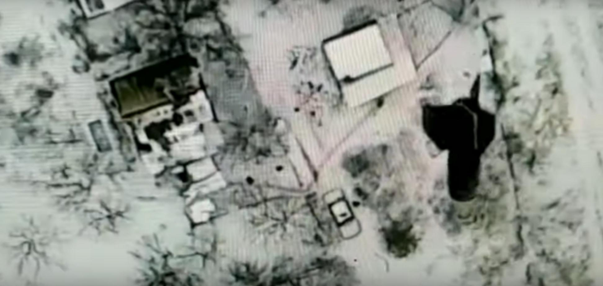 Кара наздогнала: з'явилося видовищне відео ліквідації терористів ''ДНР'' із повітря